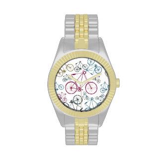 Regalos del modelo de la bicicleta del vintage relojes de mano
