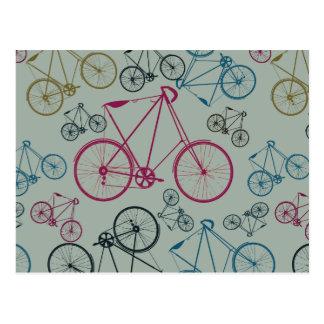 Regalos del modelo de la bicicleta del vintage tarjetas postales