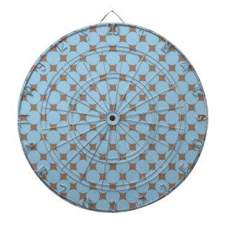 Regalos del modelo de lunar del moreno de los azul tabla dardos