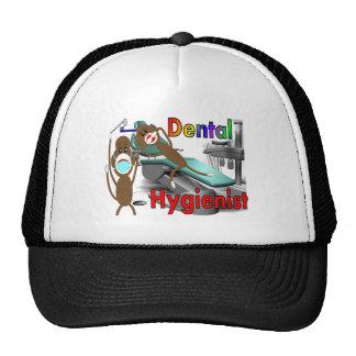 Regalos del mono del calcetín del higienista denta gorras de camionero
