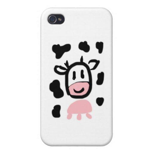 Regalos del MOO de Rosa iPhone 4/4S Fundas