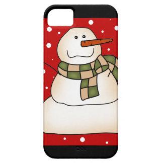 Regalos del muñeco de nieve funda para iPhone SE/5/5s
