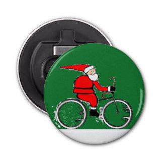regalos del navidad de los ciclistas abrebotellas redondo