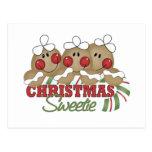 Regalos del navidad de los niños tarjeta postal