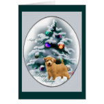 Regalos del navidad de Norfolk Terrier Tarjeta De Felicitación