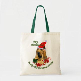 Regalos del navidad del sabueso bolsa