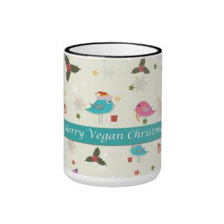 Regalos del navidad del vegano taza