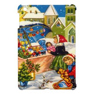 Regalos del navidad en un mercado del navidad