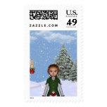Regalos del navidad para el bebé y mí 1 sellos