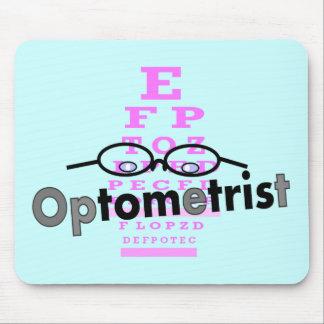 Regalos del optometrista, lentes y diseño de Eyech Tapete De Raton