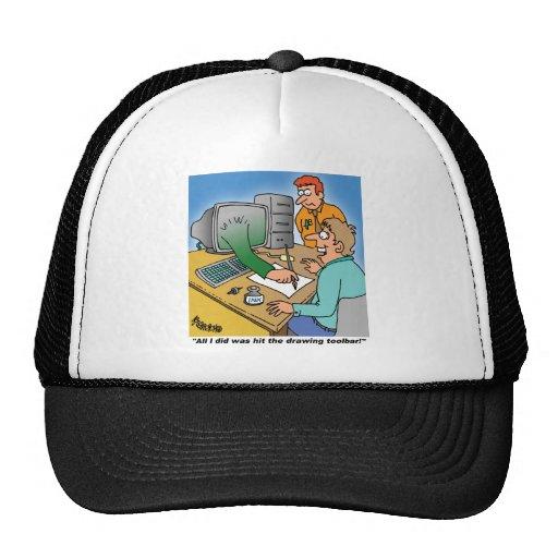 ¡Regalos del ordenador/de la tecnología! Gorras De Camionero