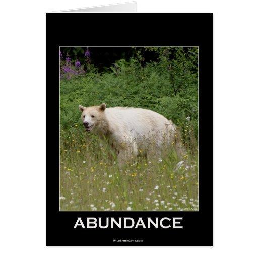 Regalos del oso del alcohol tarjeta de felicitación