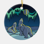 Regalos del oso del recuerdo del oso del ornamento adornos de navidad