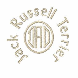 Regalos del papá de Jack Russell Terrier Camiseta Polo Bordada