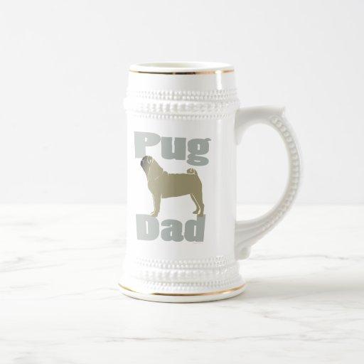 Regalos del papá del barro amasado tazas de café