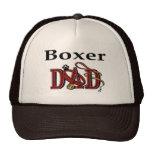 Regalos del papá del boxeador gorras de camionero