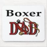 Regalos del papá del boxeador tapetes de ratones