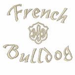 Regalos del papá del dogo francés camiseta polo bordada