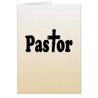 Regalos del pastor tarjeta de felicitación