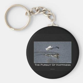Regalos del pato y de la gaviota llavero redondo tipo pin