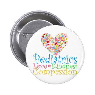 Regalos del pediatra pin redondo de 2 pulgadas