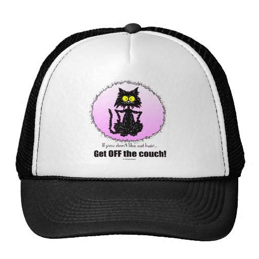 Regalos del pelo del gato… para los amantes del ga gorras de camionero