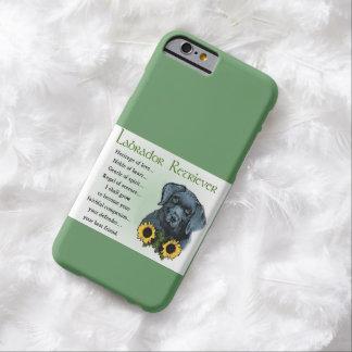 Regalos del perrito de Labrador Retreiver de la Funda Para iPhone 6 Barely There