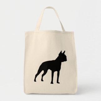 Regalos del perro de Boston Terrier negro Bolsas