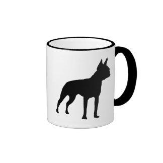 Regalos del perro de Boston Terrier (negro) Taza De Café