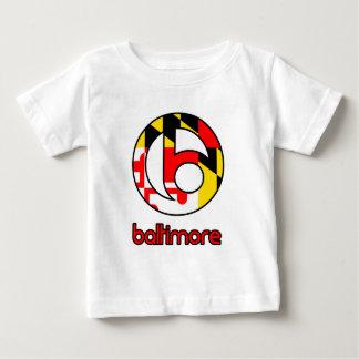Regalos del personalizado de Baltimore Playera De Bebé