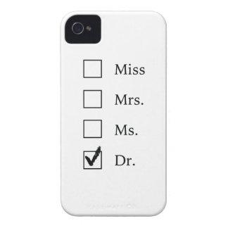 Regalos del PhD para las mujeres Funda Para iPhone 4 De Case-Mate