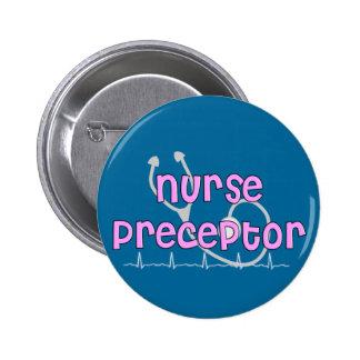 Regalos del Preceptor de la enfermera Pin Redondo De 2 Pulgadas