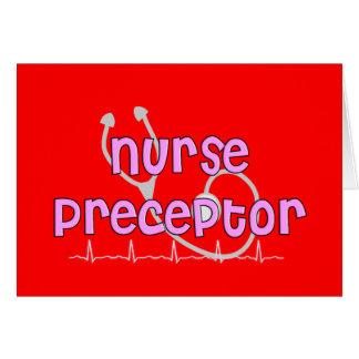 Regalos del Preceptor de la enfermera Felicitaciones