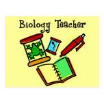 Regalos del profesor de biología postal