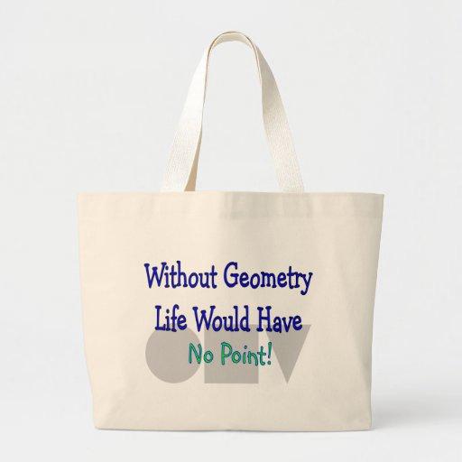 Regalos del profesor de geometría bolsas