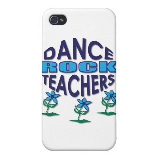 Regalos del profesor de la danza iPhone 4 funda