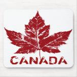 Regalos del recuerdo de la hoja de arce de Canadá  Alfombrillas De Raton