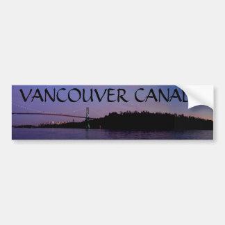 Regalos del recuerdo de Vancouver de la pegatina p Pegatina Para Auto