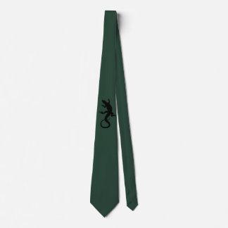 Regalos del reptil del lazo del arte del lagarto y corbata personalizada