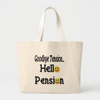 Regalos del retiro y camisetas del retiro bolsa de mano