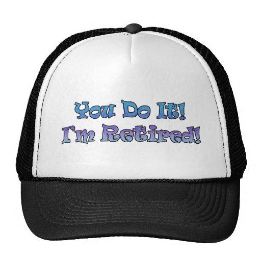 Regalos del retiro y camisetas del retiro gorras