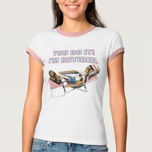 Regalos del retiro y camisetas del retiro playeras