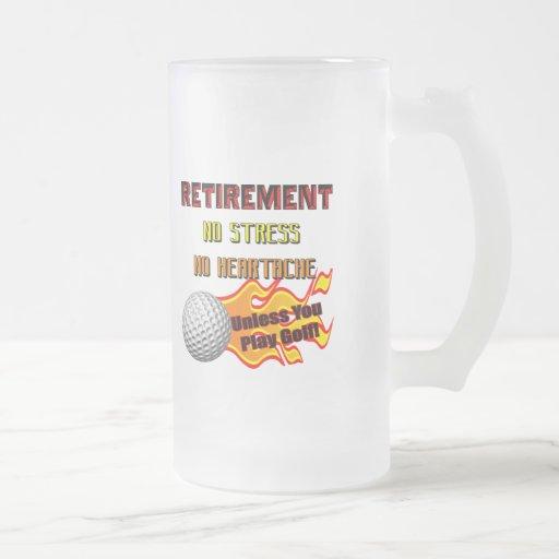 Regalos del retiro y camisetas del retiro tazas de café