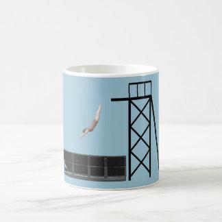 regalos del salto del contenedor del vintage taza