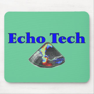 Regalos del técnico del eco (tecnología cardiaca d mousepads