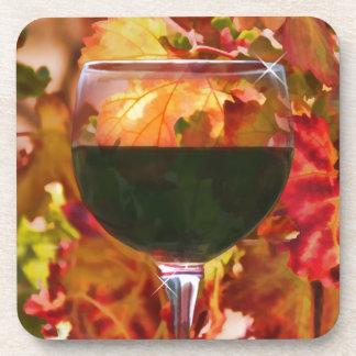 Regalos del tema del vino posavasos