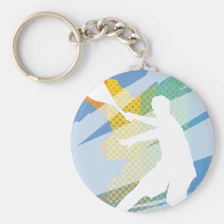 Regalos del tenis para los jugadores de tenis y lo llavero redondo tipo pin