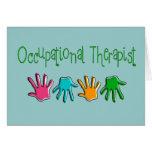 Regalos del terapeuta profesional tarjetas
