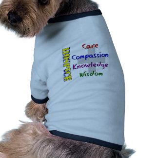 Regalos del trabajador del hospicio camisas de mascota