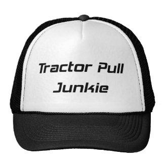Regalos del tractor del drogadicto del tirón del t gorra
